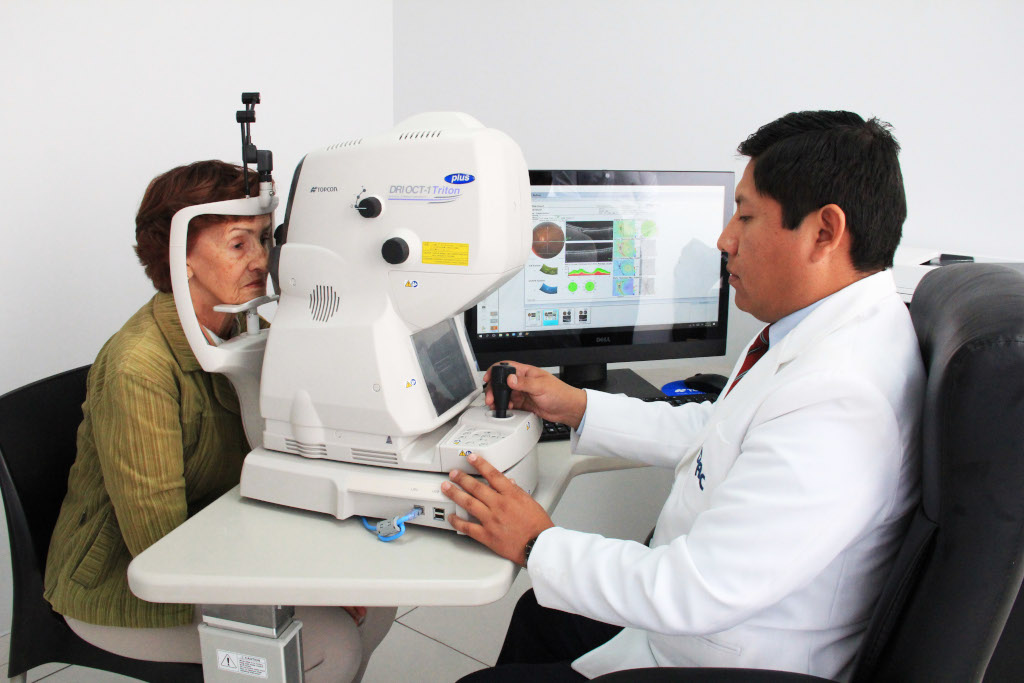 tomografia de coherencia optica - centro medico daniel alcides carrion arequipa