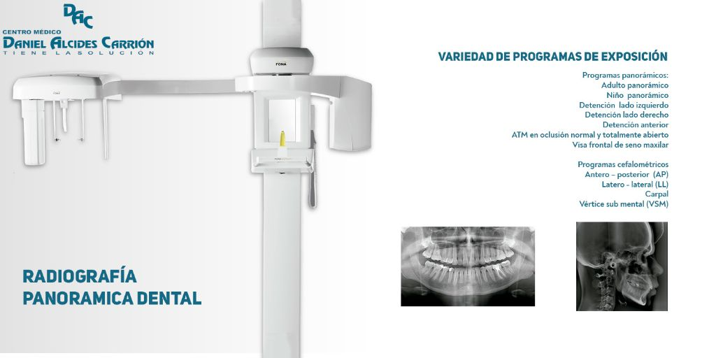 panoramico dental - centro medico daniel alcides carrion arequipa