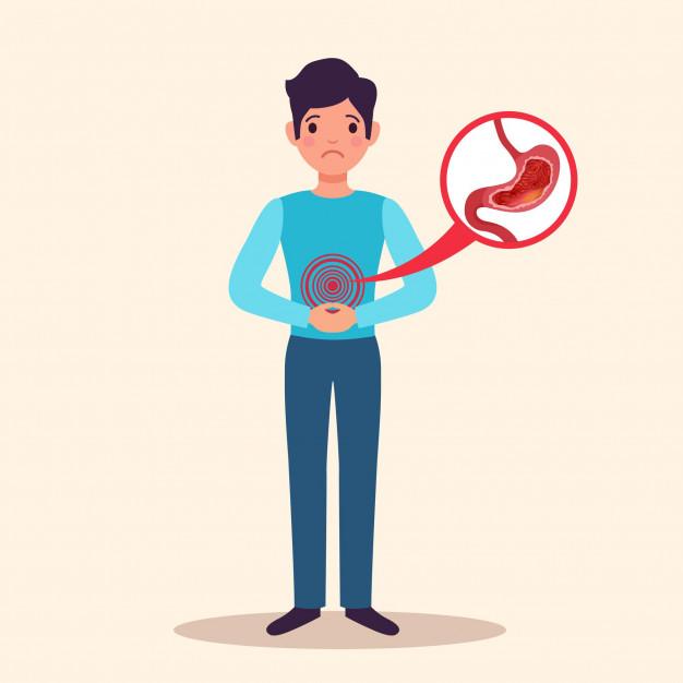 gastritis-cronica-paciente-masculino-joven-caracter-plano-inflamacion-aguda-revestimiento-estomago-hinchado