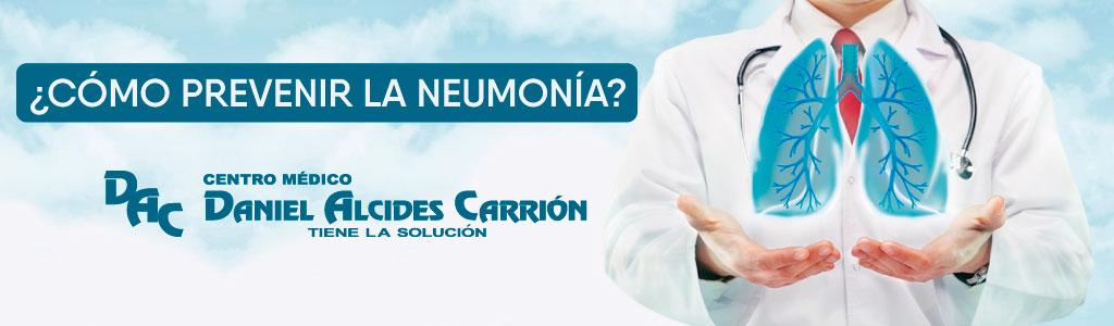 ¿Cómo prevenir la neumología?