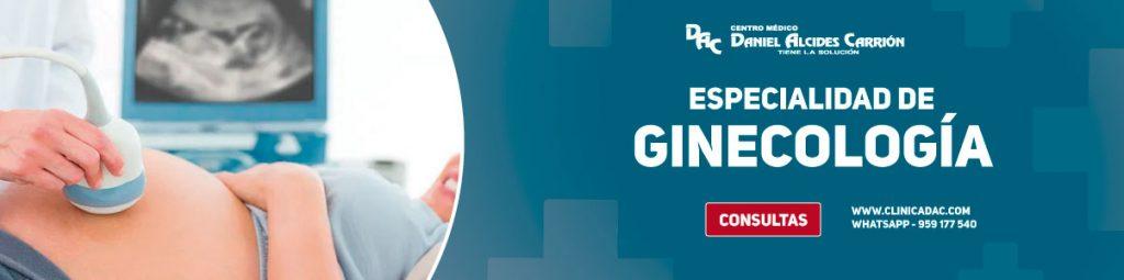 especialidad de ginecología